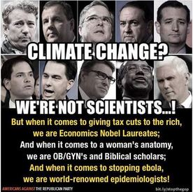 """""""We are not Scientists…"""" —but we are paid off Deniers of Science"""