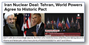 Obama's Historic Iran Deal & JEB!!! With Zero Knowledge Chips In.