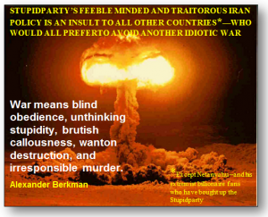 Iran, the Constitution, Stupidparty and Treason.