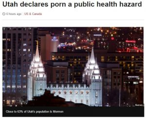 Trump, Porn and the Mormons, the Perfect Storm for the Stupidparty.