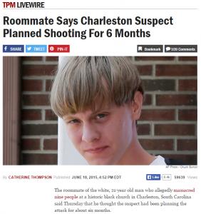 South Carolina Shooting – The Mathematics of Domestic Terrorism