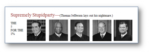 """The """"Magical"""" Supreme Court, the Constitution and Gerrymandering."""