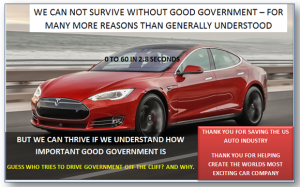 Why Government is not the Bad Guy