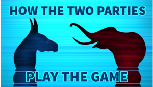 The Presidential debates: What the topics debated reveal about the way the Democrats and Republicans play the game