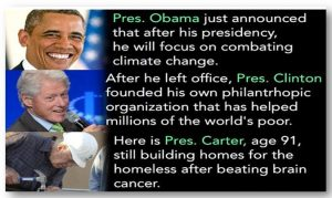 Here is Another Telling Difference Between Democrat Leaders and Stupidparty Leaders