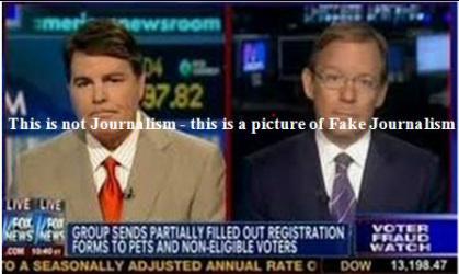 fake journalism