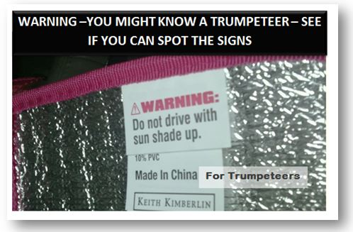 you might know a trumpeteer