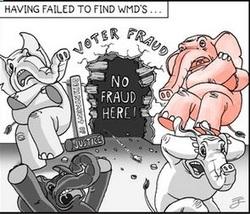 voter fraud cartoon