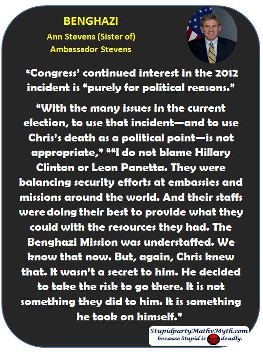 Benghazi Ann Stevens