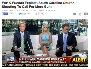 fox friends exploits south carolina church shooting