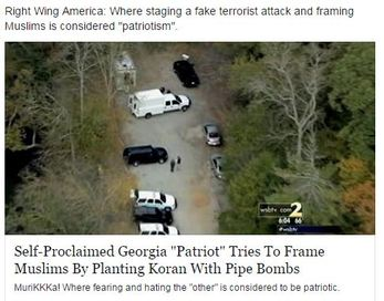 right wing america staging fake terrorist attack