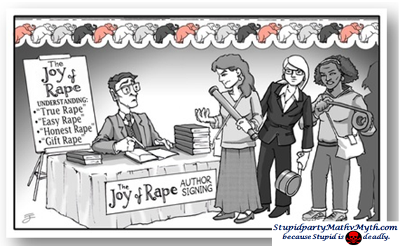 joy of rape signing