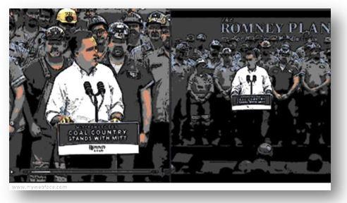 coal mine romney