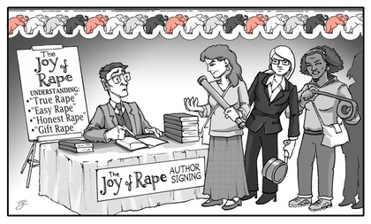 joy of rape author signing