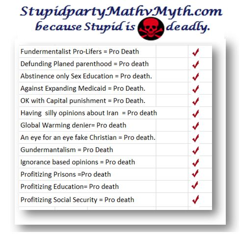 pro life pro death